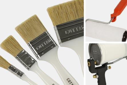 Brushes, Rollers & Spraying Thumbnail