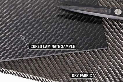 210g 2x2 Twill 3k Carbon Fibre Cloth