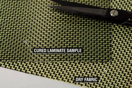 210g 2x2 Twill 3k Carbon Kevlar Cloth