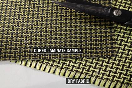 188g Plain Weave 3k Carbon Kevlar Cloth