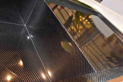 Carbon Fibre Sink Edge Close Up
