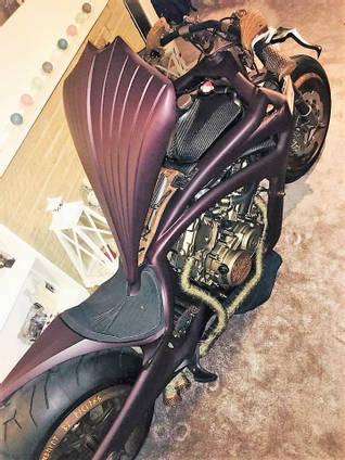 Custom Motorbike Carbon Fibre