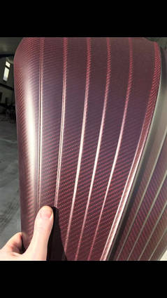 Custom Motorbike Carbon Fibre Detail