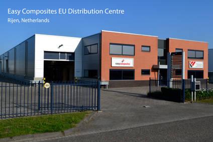 Easy Composites new EU Distribution Centre in Rijen, Netherlands