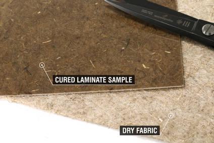 300g Non-Woven Flax Fibre Mat