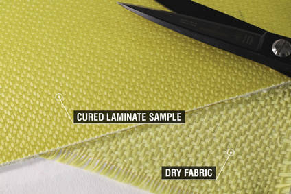 175g Satin Weave Kevlar Cloth Fabric
