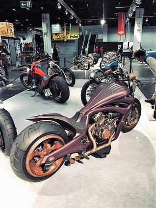 One Off Development Custom Motorbike
