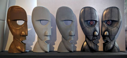 Pink Floyd Cold Casting Resin Casts