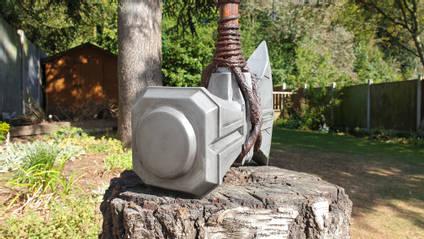Thor Stormbreaker Axe End View