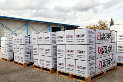 12 pallets of XPREG prepreg