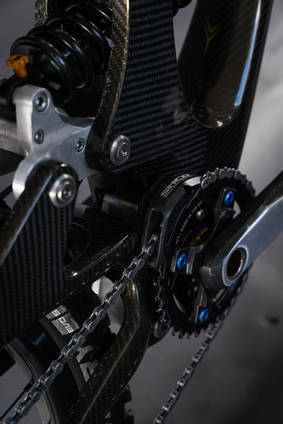 Sequence Carbon Fibre Downhill Bike Crank