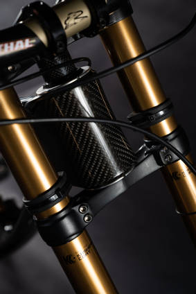 Sequence Carbon Fibre Downhill Bike Front Forks