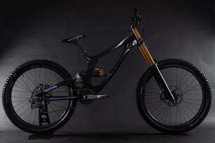 Sequence Carbon Fibre Downhill Bike Using XPREG Prepregs