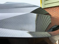 Carbon Fibre Hull Close Up Thumbnail