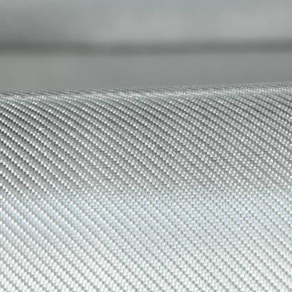 290g 2x2 Twill Alufibre Silver Glass Draped