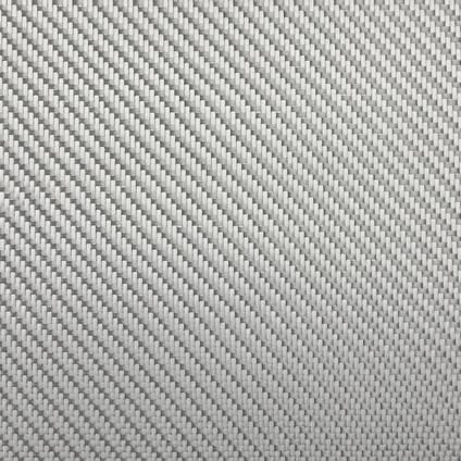 290g 2x2 Twill Alufibre Silver Glass Wide