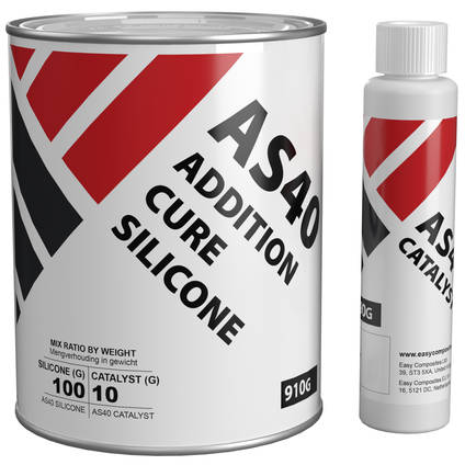 AS40 Addition Cure Silicone Rubber 1kg Kit