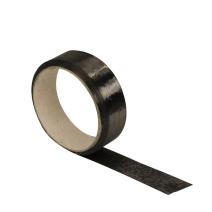 80g Carbon Fibre Spread-Tow Ribbon (25mm) 10m Roll