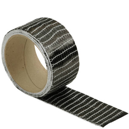 250g Unidirectional Carbon Fibre Tape (50mm) On a Roll