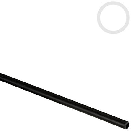 4mm (3mm) Pultruded Carbon Fibre Tube
