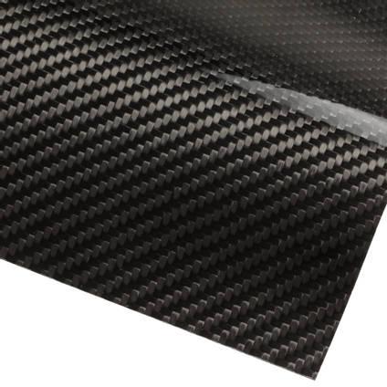 Carbon Fibre Veneer Sheet 0.25mm