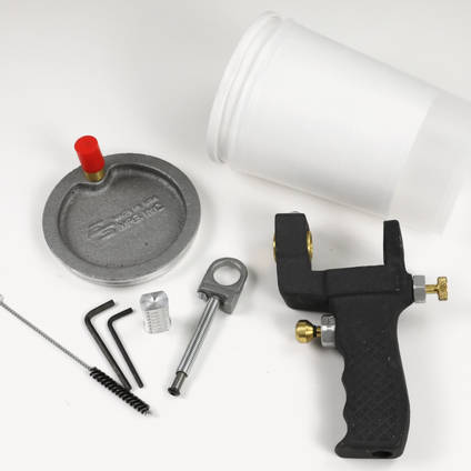Gelcoat Spray Gun - Included Accessories
