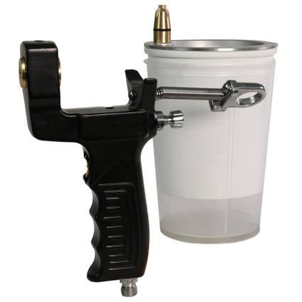 Gelcoat Spray Gun - Cup Separated from Gun