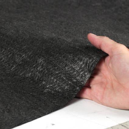 100g Carbon Fibre Non-Woven Mat in Hand