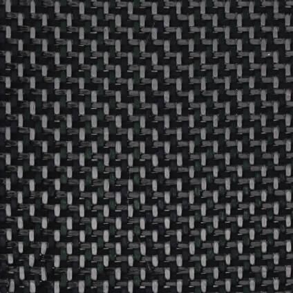 200g 2x2 Twill Carbon Black Twaron Cured Laminate Sample