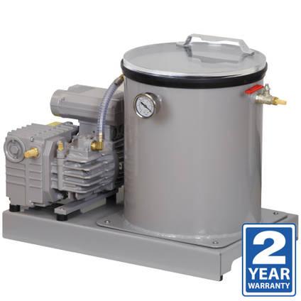 DC26-P Professional Vacuum Degassing System 26L