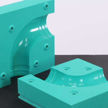 Prototype Elbow Tube Mould from EB700 Board