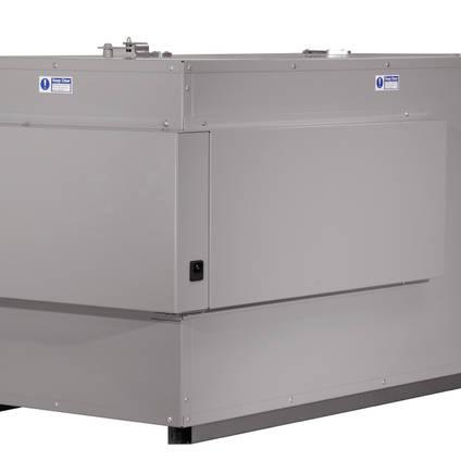 OV301 Precision Composites Curing Oven Reverse Corner Angle