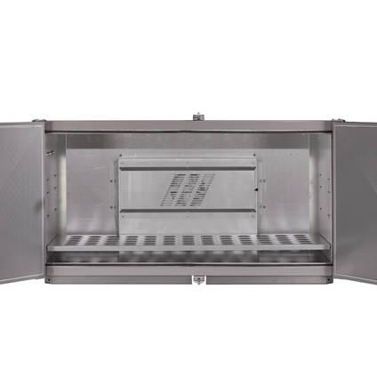 OV301 Internal Layout and Shelf