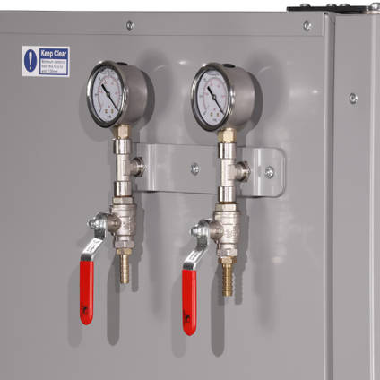OV301 with Two Optional Vacuum Valves Connected