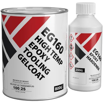 EG160 High Temp Epoxy Tooling Gelcoat 1kg Kit