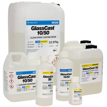 GlassCast 50 Clear Epoxy Casting Resin