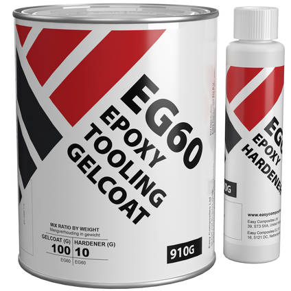 EG60 Epoxy Tooling Gelcoat 1kg Kit