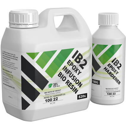 IB2 Epoxy Infusion Bio Resin 1kg