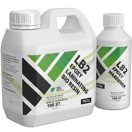 LB2 Epoxy Laminating Bio Resin 1kg