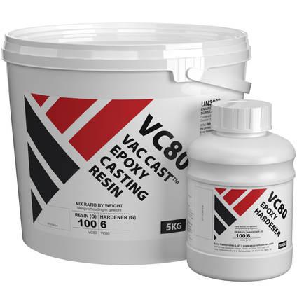 Vac Cast Epoxy Casting Resin 5.3kg Kit