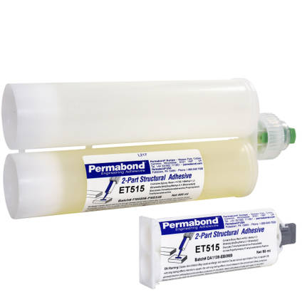 ET515 Semi Flexible 15min Epoxy Adhesive Available Pack Sizes
