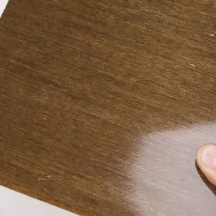 200g Unidirectional Flax Tape Cured Laminate Sample