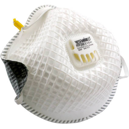 P2 Valved Moulded Disposable Respirator Mask