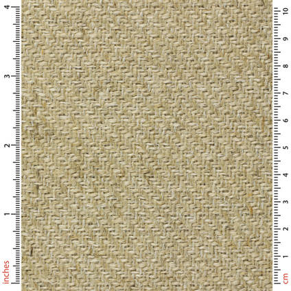400g 2x2 Twill  Biotex Flax Fibre Cloth (1250mm) Ruler