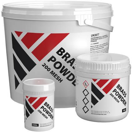 Brass Metal Powder - Range of Pack Sizes