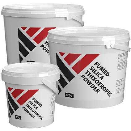 Fumed Silica Thixotropic Powder - Range of Pack Sizes