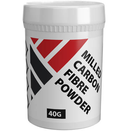Milled Carbon Fibre Powder 40g