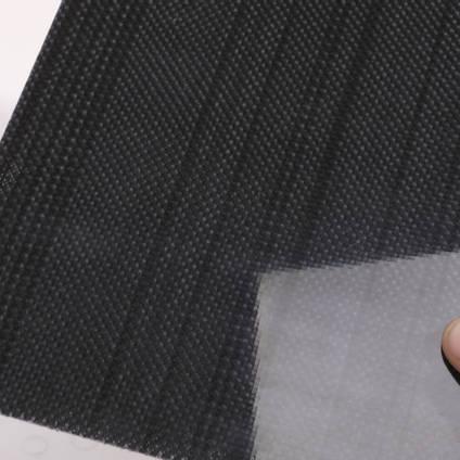 120g Plain Weave Black Innegra S Cloth (1000mm) Cured Laminate Sample