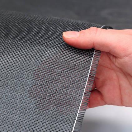120g Plain Weave Black Innegra S Cloth (1000mm)