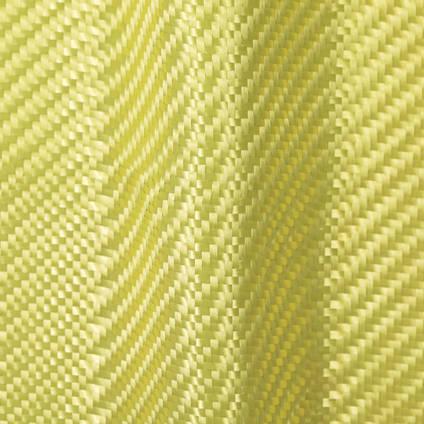 300g 2x2 Twill Weave Kevlar Cloth Draped